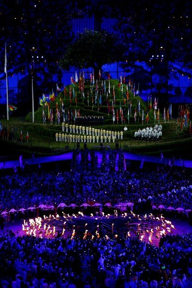 OMA at the opening ceremony of the Olympic Games!